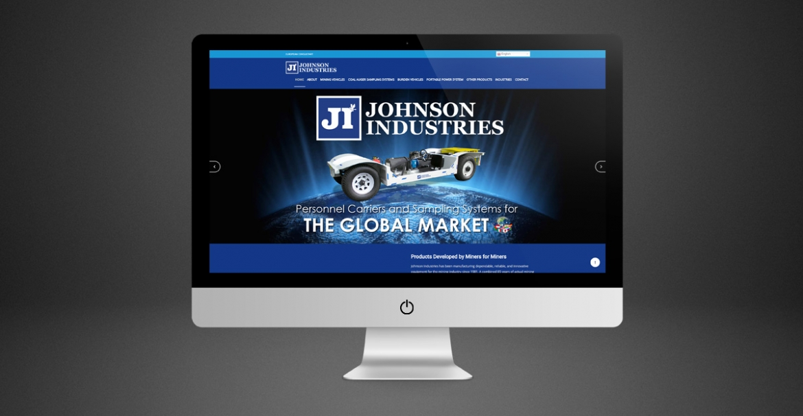 Johnson Industries | GraFitz Group Network Website Designs