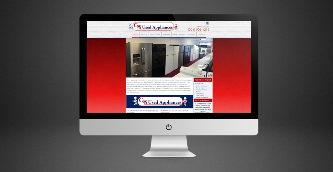 C & S Appliances | GraFitz Group Network Website Design