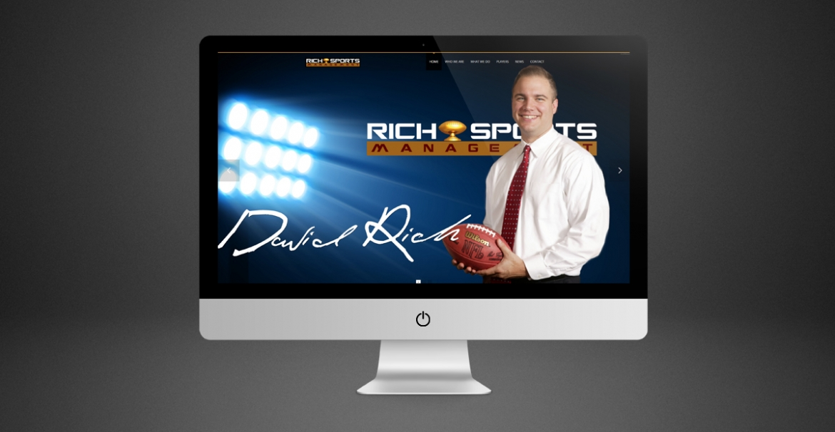 Rich Spots Management | GraFitz Group Network Website Design