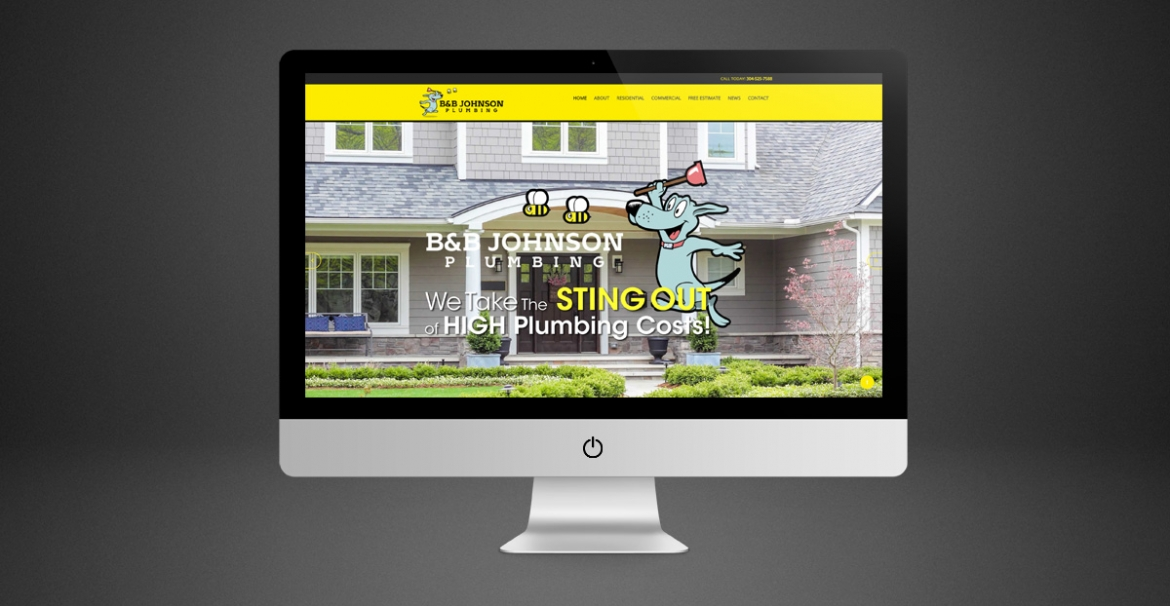 B & B Johnson Plumbing | GraFitz Group Network Website