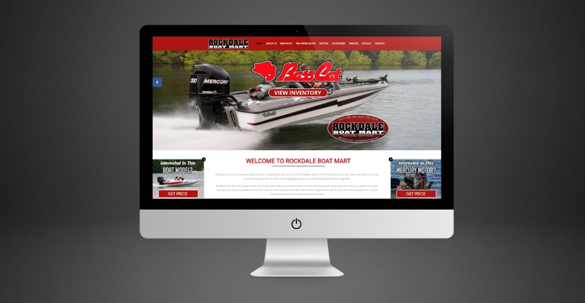 Rockdale Boat Mart | GraFitz Group Network Website Design