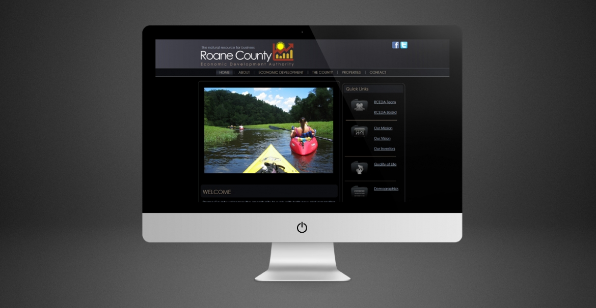 Roane County Economic Development Authority | GraFitz Group Network Website Design