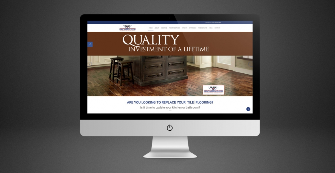 Great American Floors | GraFitz Group Network Website Design