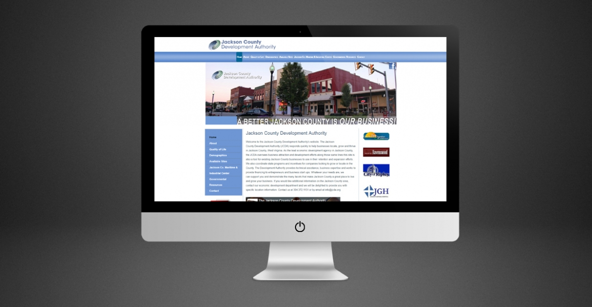 Jackson County Development Authority | GraFitz Group Network Website Design