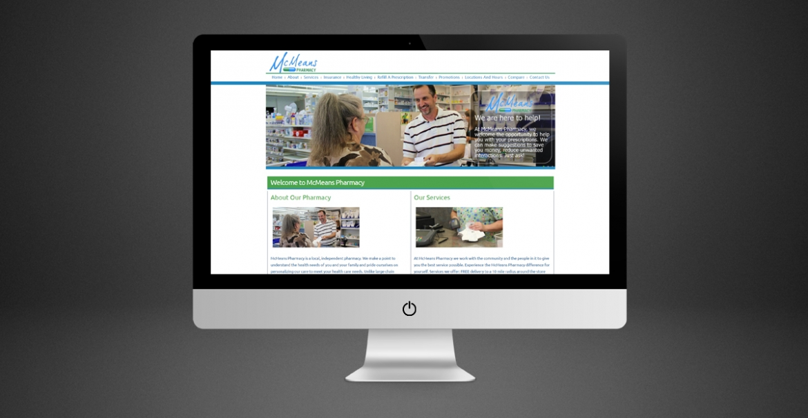 McMeans Pharmacy | GraFitz Group Network Website Design