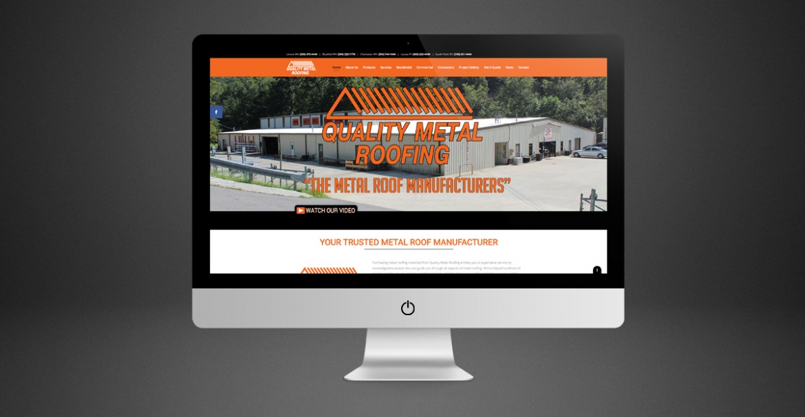 Quality Metal Roofing | GraFitz Group Network Website Design