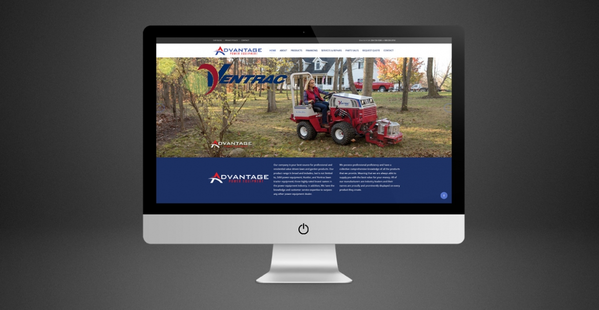 Advantage Power Equipment | GraFitz Group Network Website
