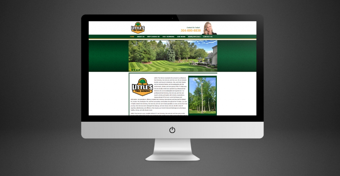 Little's Tree Service | GraFitz Group Network Website