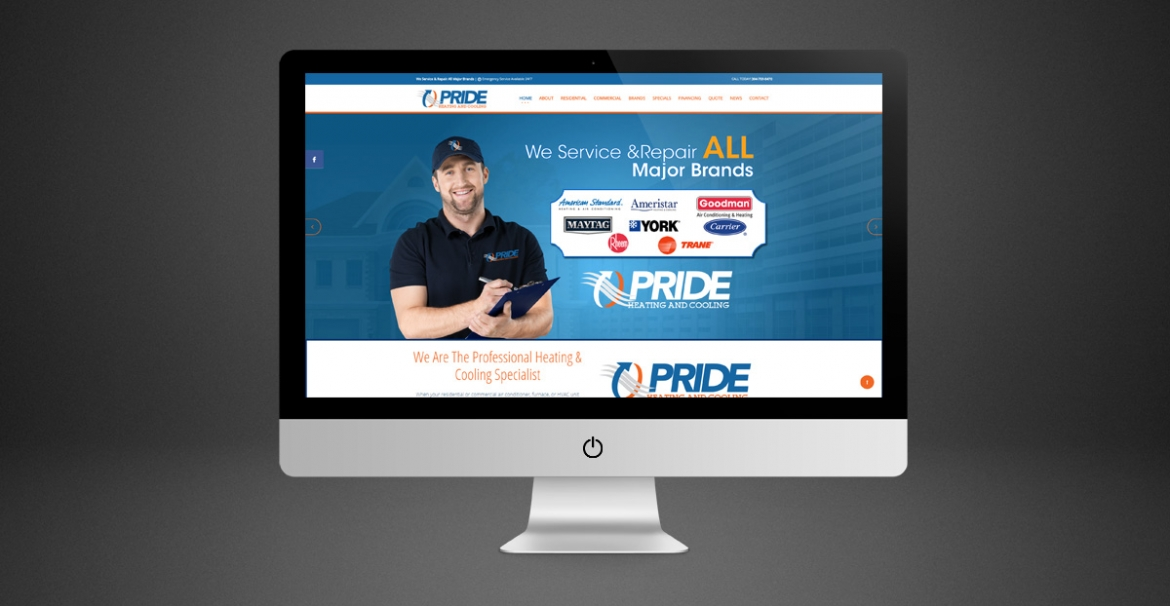 Pride Heating & Cooling | GraFitz Group Network Website