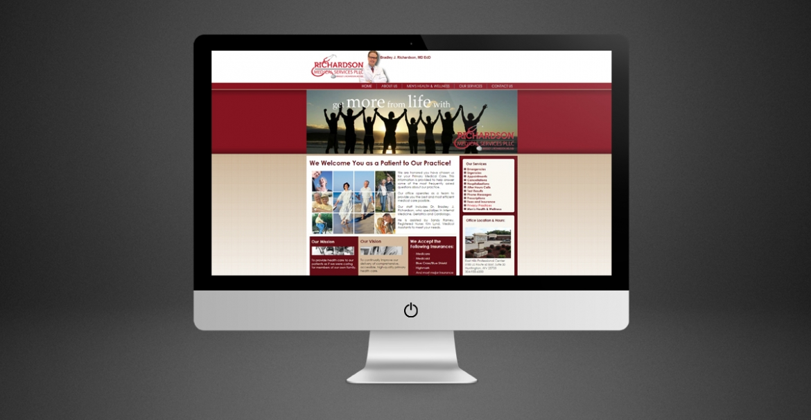 Richardson Medical Services | GraFitz Group Network Website Design